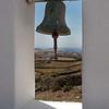 Mykonos island view from church
