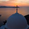 Fira, Santorini at dusk