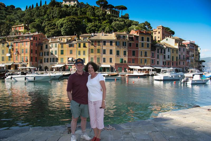 Bill & Barb in Portofino
