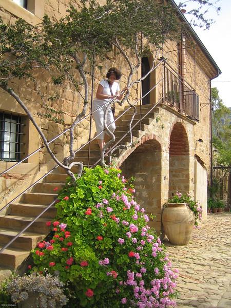Barb at Casa Migliaca, Crete