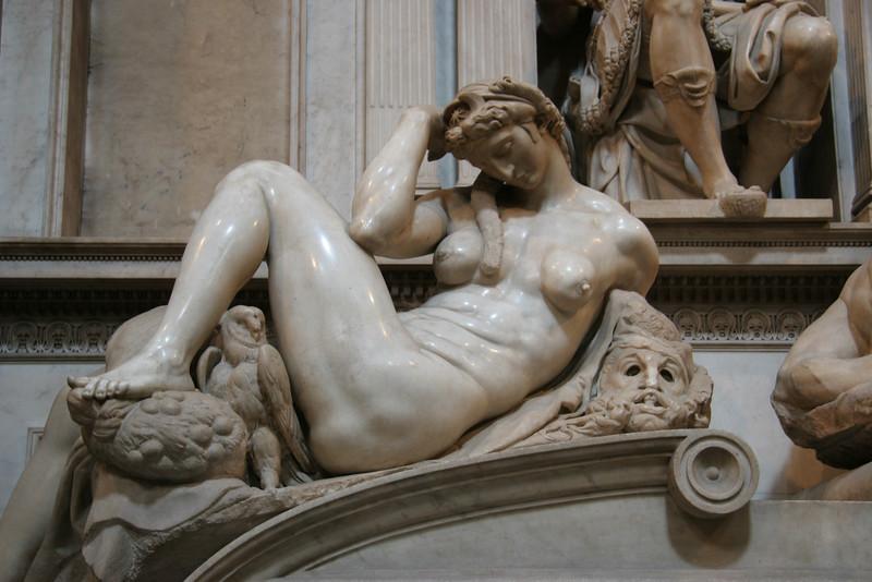 Medici Chapel, Michelangelo sculptures, Florence