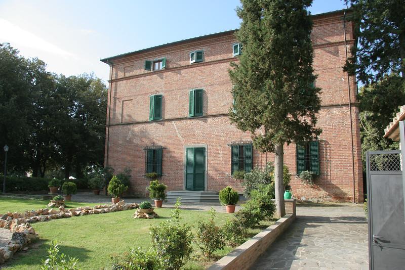the rented Villa at Foiano della Chiana