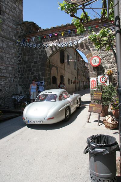300 SL Merceded at Mille Miglia