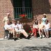 family at the villa