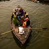 Pilgrims on the Ganges at Varanasi