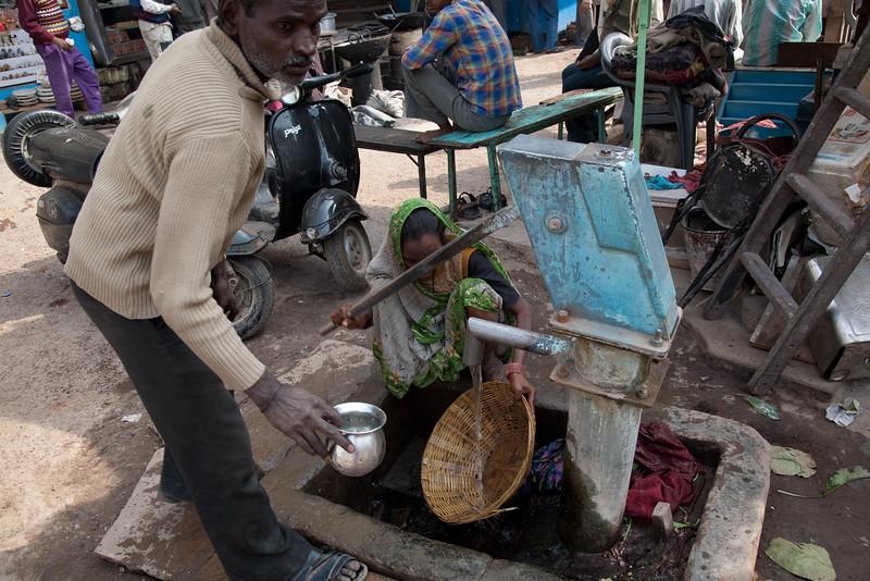 city water in Varanasi