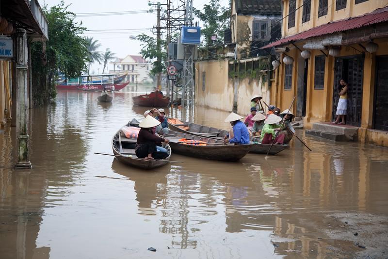 Hoi An, Viet Nam after monsoon