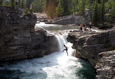 Waterfall Jump, Canada