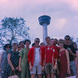 WORLD'S FAIR SPACE NEEDLE  ---   Hillcrest Baptist Church Dallas Youth Mission Trip