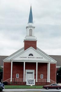 Driving by my high school days church