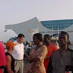Arriving at Banjul Airport