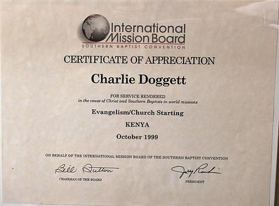 1999 Mission Trip to Busia, Kenya