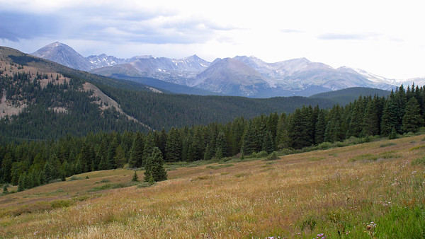 On my drive up Boreas Pass Road south of Breckenridge, CO, August 27, 2005