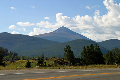 Mountain views from Hwy 9 near Breckenridge, CO, August 26, 2005