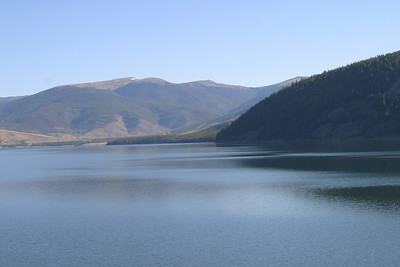 Dillon Lake from Hwy 9 south of Frisco, CO, Friday, August 26, 2005