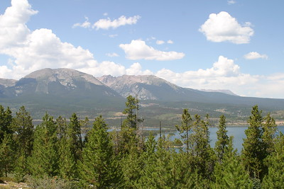 On Sapphire Point Trail, Frisco, CO, August 28, 2005
