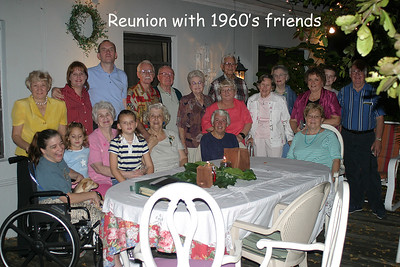 Dinner with What's Left of 1960's Friends - Miami Springs