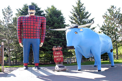 Home of Paul Bunyan & Babe!