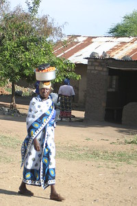Nyakato, Tanzania on our first of two days there, November 10, 2005.