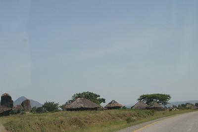 On the road back to Nairobi from Tanzania. November 16, 2005.