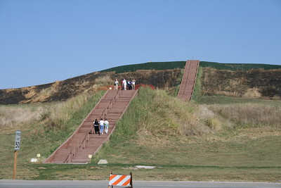 Cahokia Mounds State Historic Site, Collinsville, Illinois, September 30, 2007