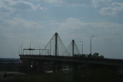 Bridge near the Great River Museum, Alton, Illinois, September 30, 2007