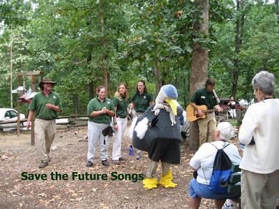 Staff Singing Children's Songs