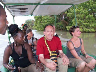 Charlie on Public Boat Ride to Mainland