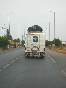 On the Road Between Dakar, Senegal and Janjanbureh, The Gambia