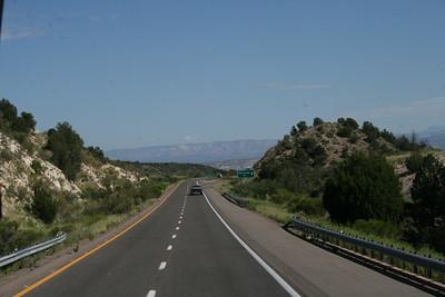 Enroute to Montezuma Castle
