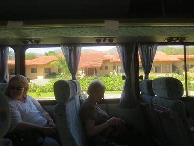 On Caravan Tours Bus to