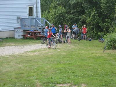 At Camp Bar None, Boisetown, NB, Canada, July 15, 2009