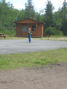 At Camp Bar None, Boisetown, NB, Canada, July 13, 2009