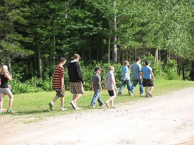 At Camp Bar None, Boiseton, New Brunswick, Canada