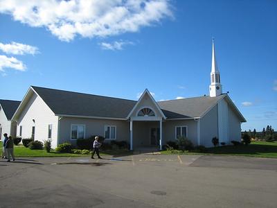 At Community Baptist Church, Charlottetown, Prince Edward Island, Canada, September 19, 2008