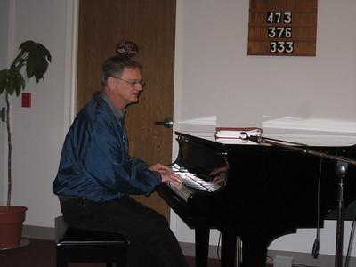 Senior Adult Singing with Sam