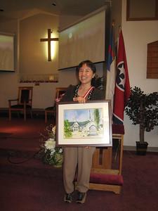 Presentation to Church at