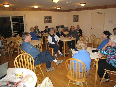Meeting at Sherwood Motel, Charlottetown, Prince Edward Island, Canada, Thursday, 25 September 2008