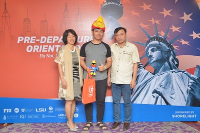 Pre-Depature Orientation Photo Booth by Shorelight - Chụp hình in ảnh lấy liền Sự kiện