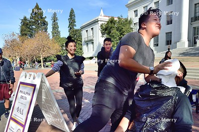 Fraternity pie in the face fundraiser