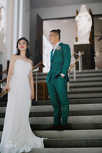 Soccer-Themed Pre-Wedding