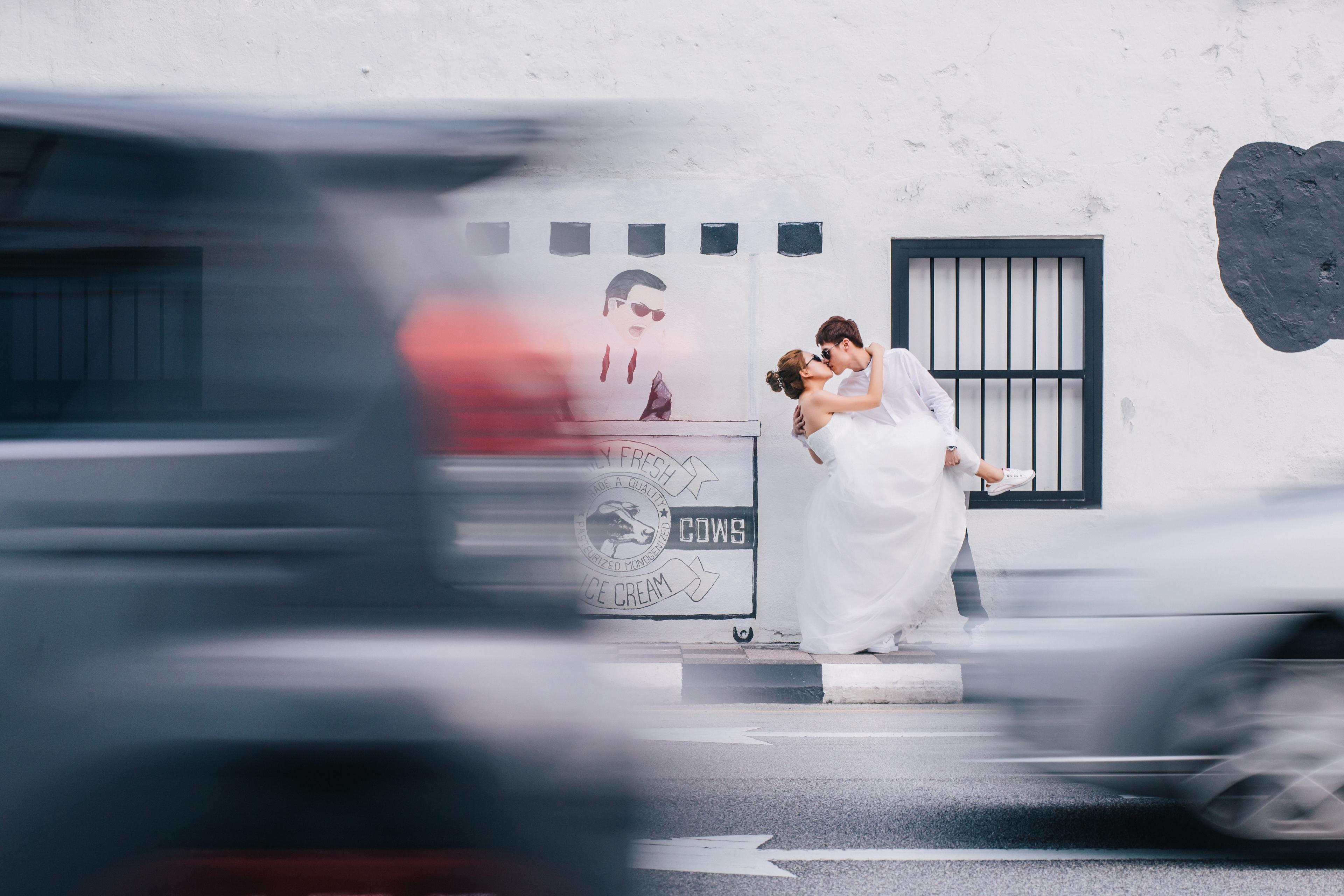Pre Wedding in Concubine Lane Ipoh, 怡保二奶巷 Perak Malaysia