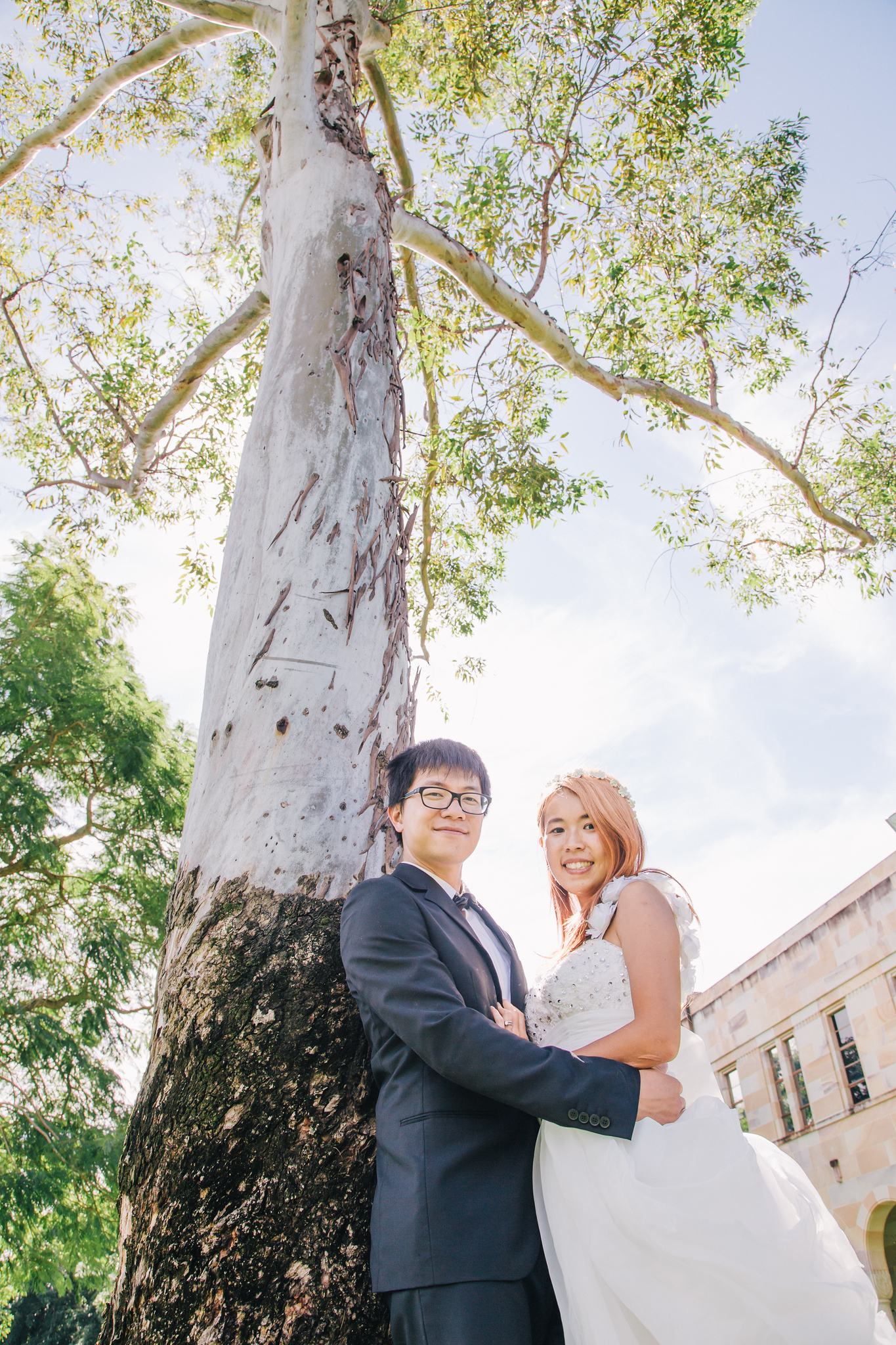 Australia Pre Wedding in University of Queensland Brisbane, Australia