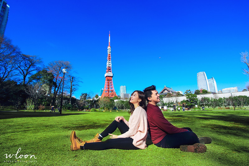 tokyo tower pre wedding
