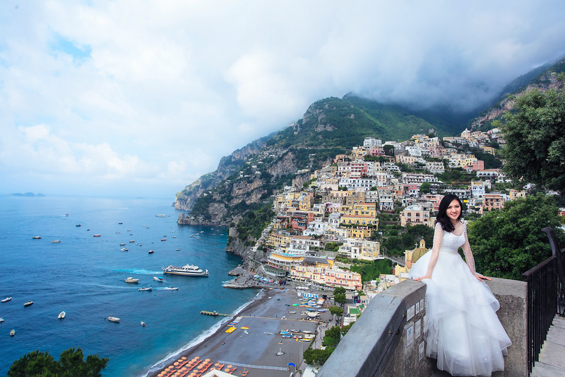 amalfi coast pre wedding