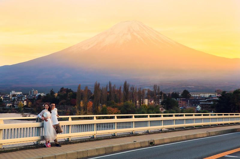 fuji pre wedding