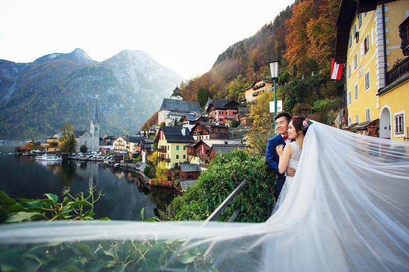 hallstatt pre wedding