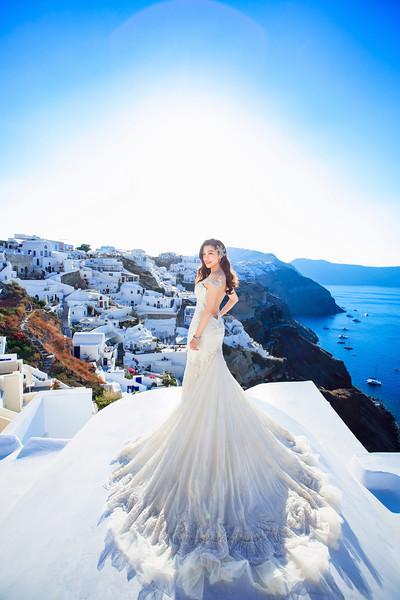 santorini pre wedding