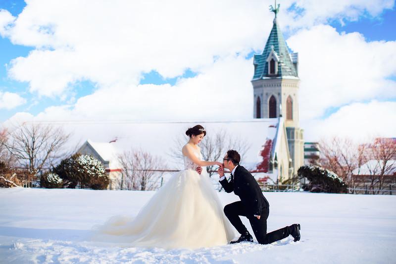 hokkaido pre wedding
