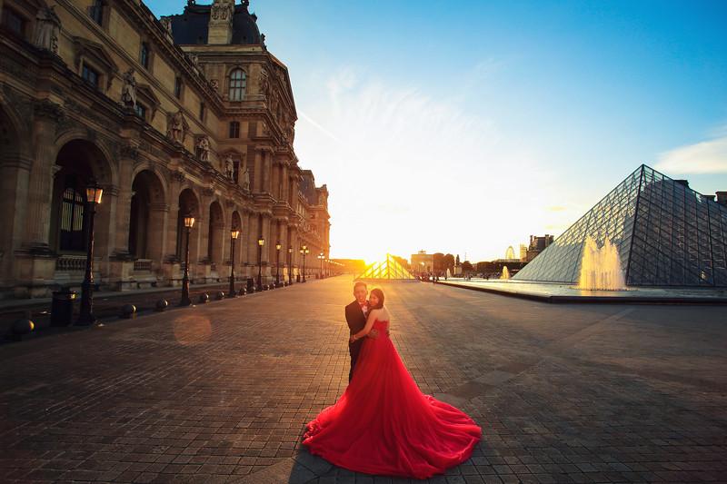 louvre pre wedding